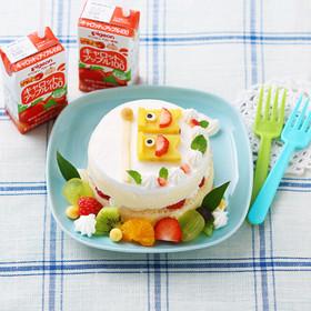 離乳食 こいのぼりケーキ