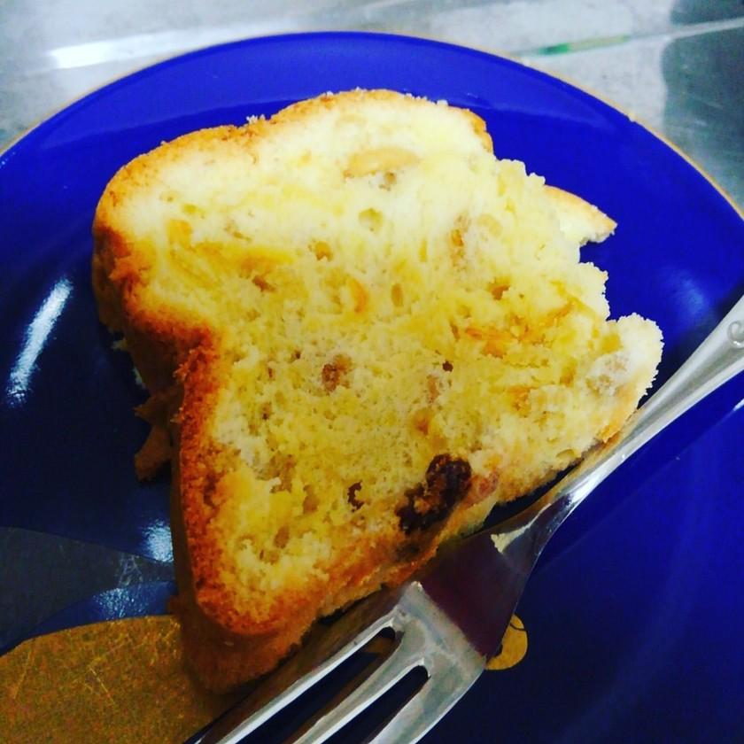 オリーブオイルでパウンドケーキ