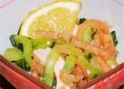 クラゲとキュウリの酢の物 ピリ辛柚子胡椒