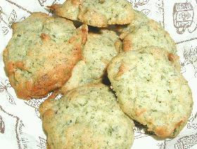 さくらエビと青のりのクッキー