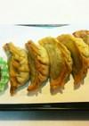 南瓜とチーズのおやつ餃子