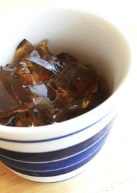麦茶ゼリー