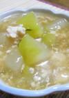 冬瓜と鶏そぼろの餡かけスープ