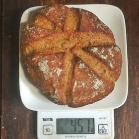 加水率100%で焼くハードパン