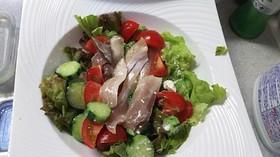 マリネ魚のサラダ