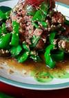 あっさり簡単❗ピーマンと茄子の挽き肉炒め