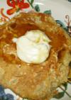 キャロットケーキパンケーキ