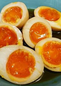 極旨♪つまみにもなる半熟味付け卵(煮卵)