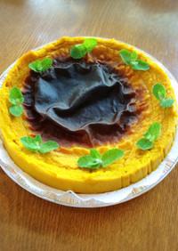 しっとり濃厚かぼちゃケーキ  マクロビ