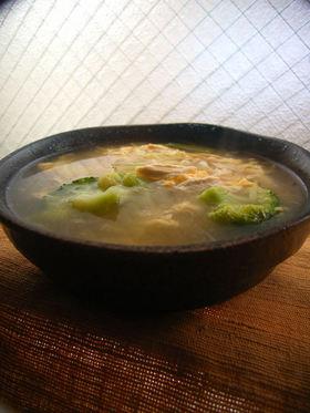 ネギたっぷり!風邪っぴきさんの滋養スープ
