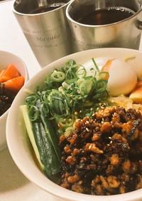 簡単 市販アレンジ冷やし坦々麺