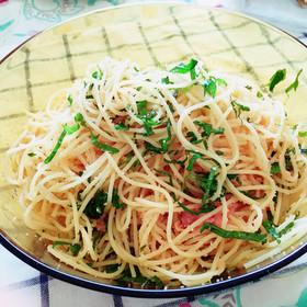 簡単! 我が家の たらこスパゲティ