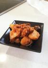挽肉と残り野菜のミートソース風