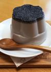 糖質オフの優しいおやつ・黒ゴマ豆乳プリン