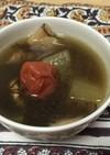 オクラ・もずく・冬瓜のネバネバスープ