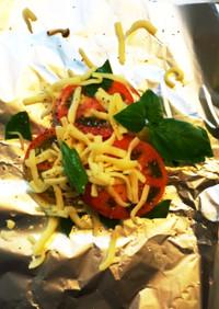 BBQに!トマトとチーズのホイル焼き