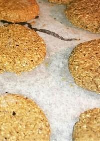 糖質制限でもピーナッツクッキー材料二種類