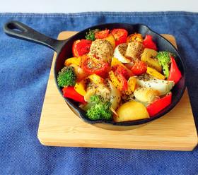 野菜のぎゅうぎゅう焼き