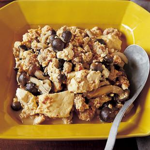 ゆる辛豆腐チャンプルー
