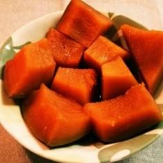 簡単かぼちゃの煮物