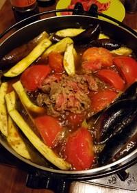 リコピンたっぷりのトマトすき焼き