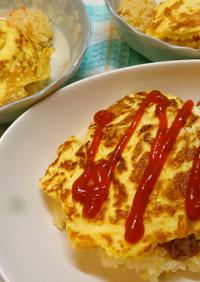 簡単美味しい♪炊飯器deオムライス!