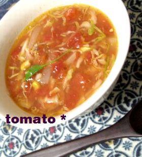 キンキン★ 冷たいトマトのスープ ★