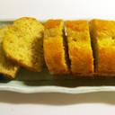 完熟バナナのしっとりパウンドケーキ