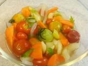 レモン酢で作る野菜のマリネ 砂糖無 の写真