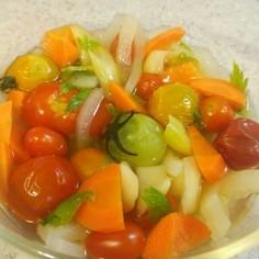 レモン酢で作る野菜のマリネ 砂糖無