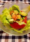 シンプル&簡単☆トマトカップサラダ