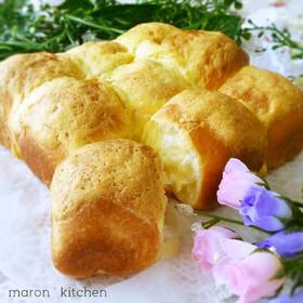 HBで簡単♥スイートブールちぎりパン