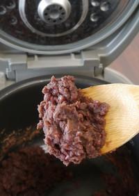 炊飯器で簡単!豆からあんこ作り(粒あん)