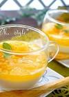 とろとろ豆乳プリン♪オレンジジュレソース