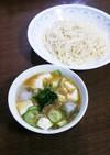 冷や汁ぶっかけ素麺
