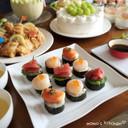 ひな祭りも♬にぎらない寿司!にぎら寿司♡