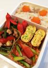 毎日男弁当⁂鶏ごぼうご飯と彩りおかず弁当