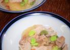 そうめん南瓜と豚バラ肉のあっさり味炒め物