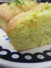 レモンタイムパウンドケーキの写真