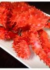 花咲ガニ!茹で蟹 茹で方・さばき方 ♪
