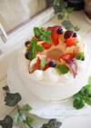 しっとり♡ヨーグルト風味のシフォンケーキ