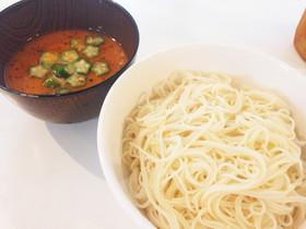 素麺つけ汁のアレンジ〜肉味噌豆乳〜
