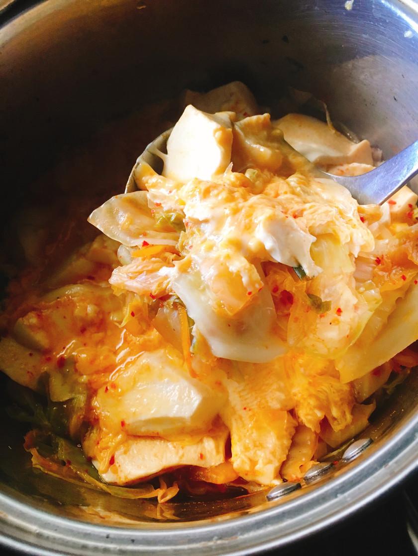 ダイエットに!スンドゥブ風キムチスープ