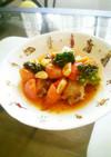 簡単☆お好きな食材でアクアパッツァ風