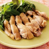 タイ風レンジ蒸し鶏