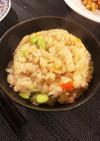 簡単 ツナと枝豆のビール炊き込みご飯