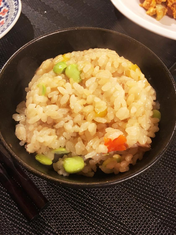 簡単*ツナと枝豆のビール炊き込みご飯