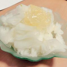 *梨で簡単☆かき氷*