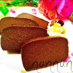 ミキサーで♡いつものお豆腐チョコケーキ♡