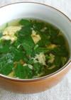モロヘイヤの玉子スープ